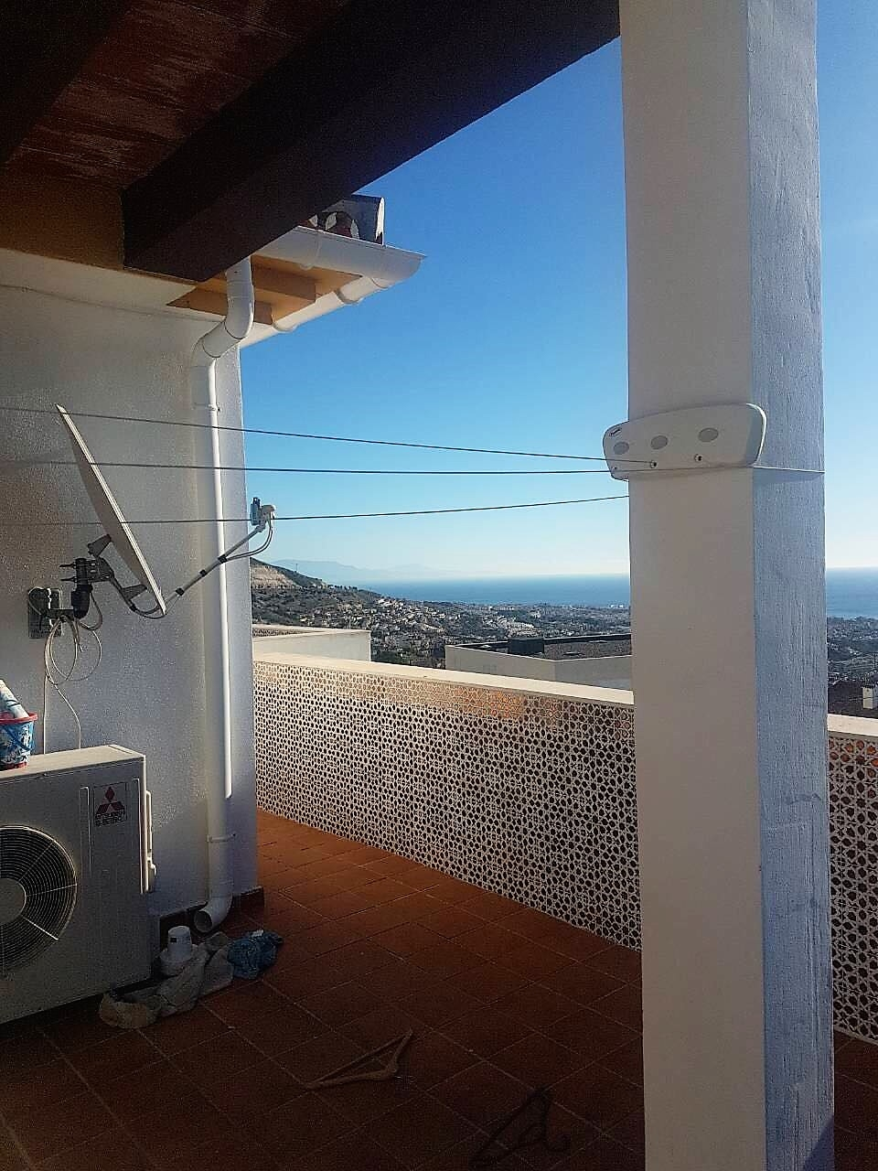 Penthouse for holidays in Benalmádena Pueblo